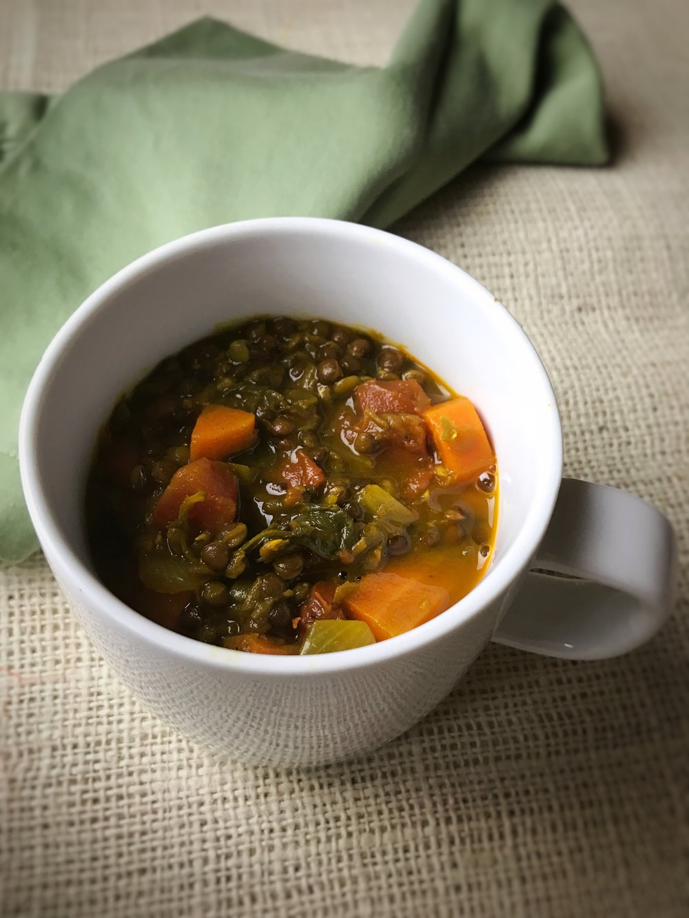 Warming Lentil Super-Detox Soup II