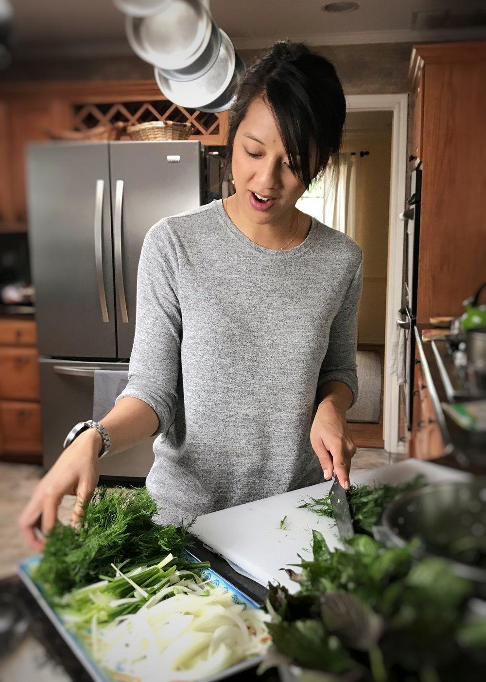 Susie Bui makes Cha Ca La Vong