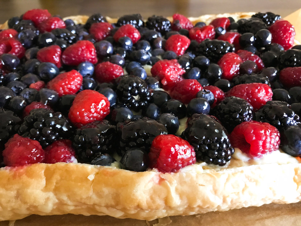 Easy Berry Tart