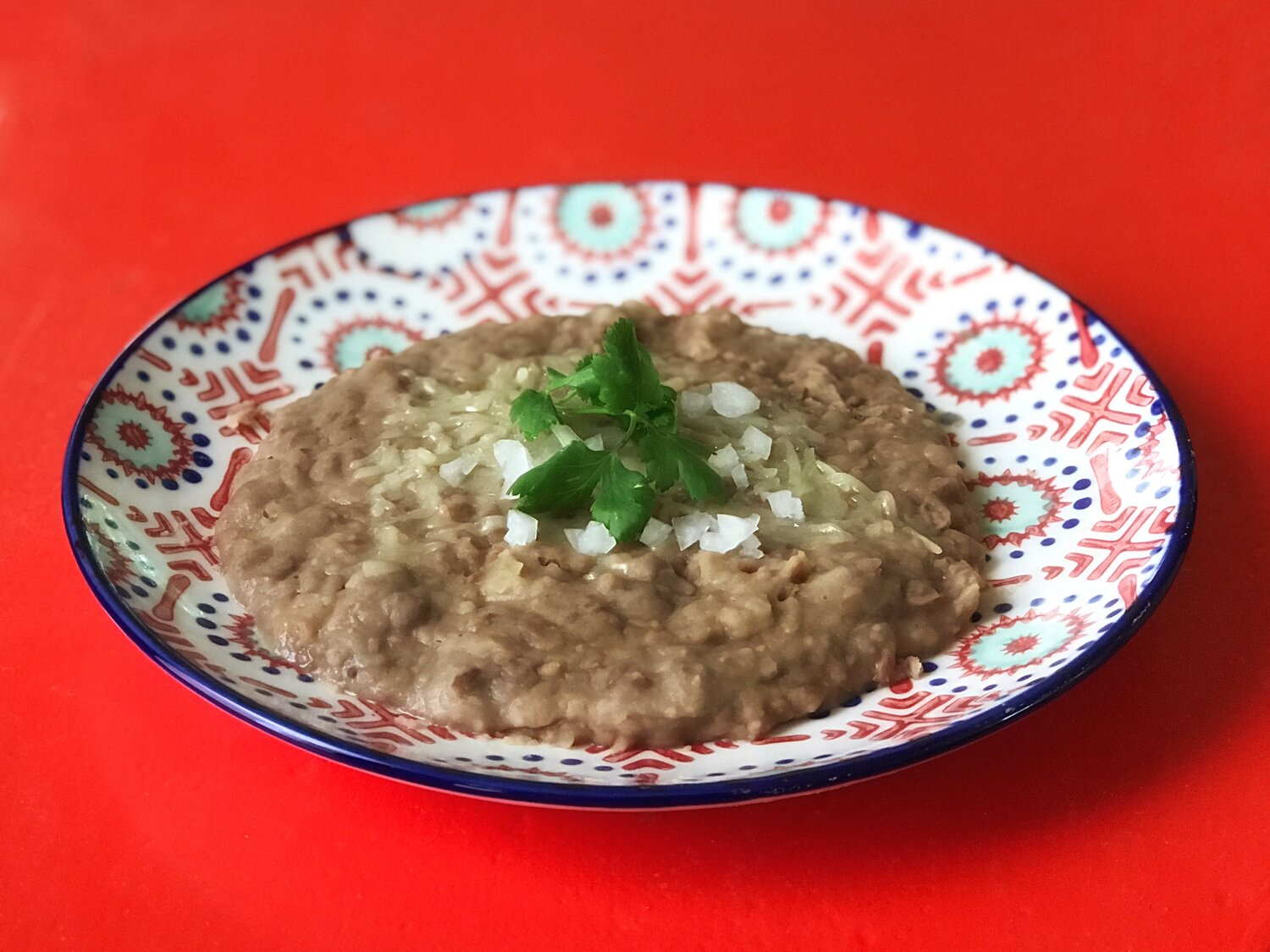 Our Recipe For Refried Beans Frijoles Refritos Shows It S Easy To Make Your Own From Dried Pintos Cooks Without Borders