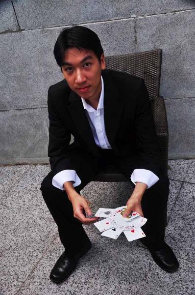 Jonathan Low Singapore Magic Show