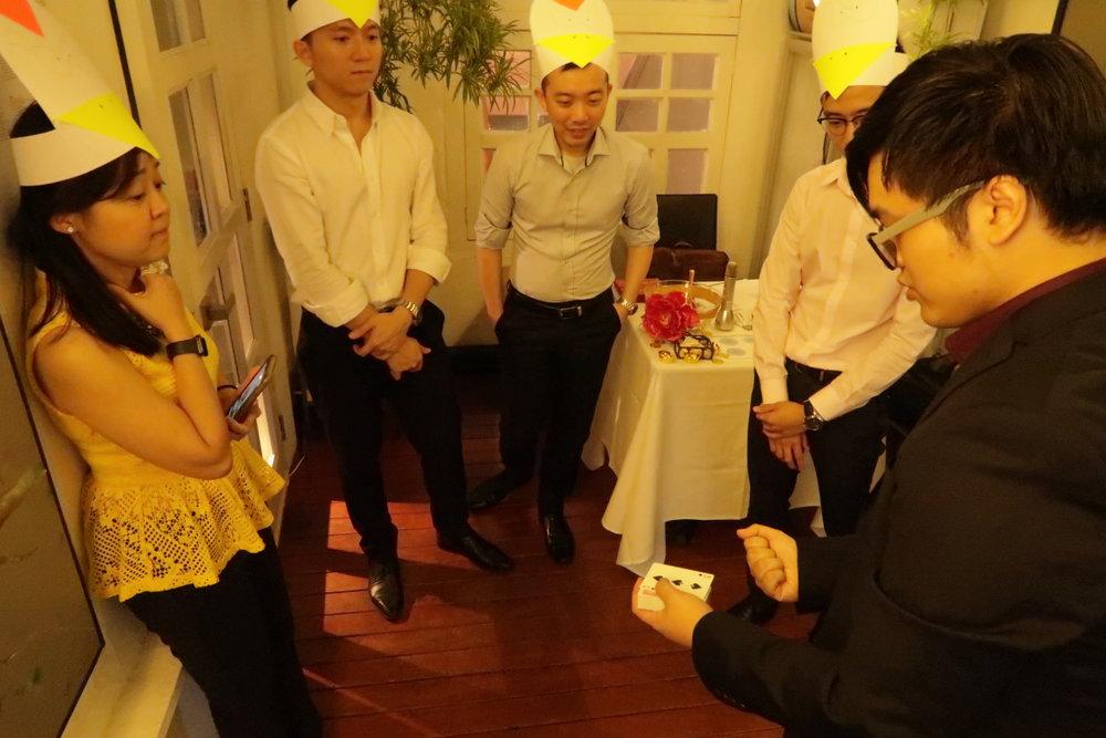 Singapore Magician Joel Lim