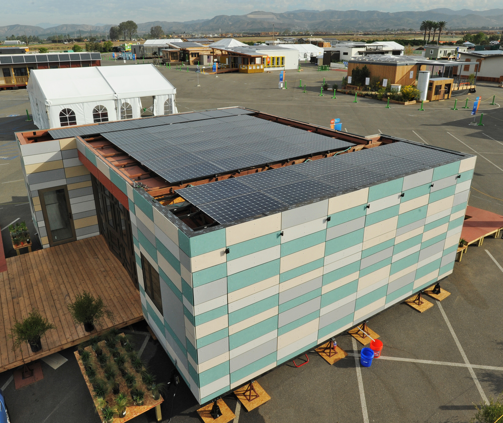 Photo by Thomas Kelsey/US Department of Energy Solar Decathlon