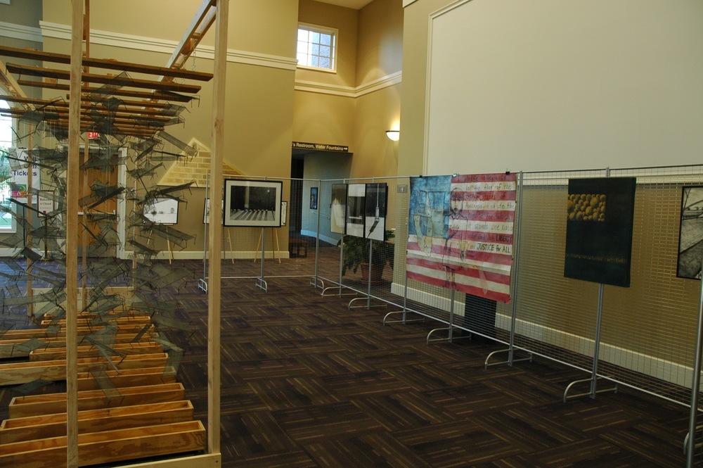 Exhibit at Reynolds Performance Hall, University of Central Arkansas. Photo by Nancy Chikaraishi