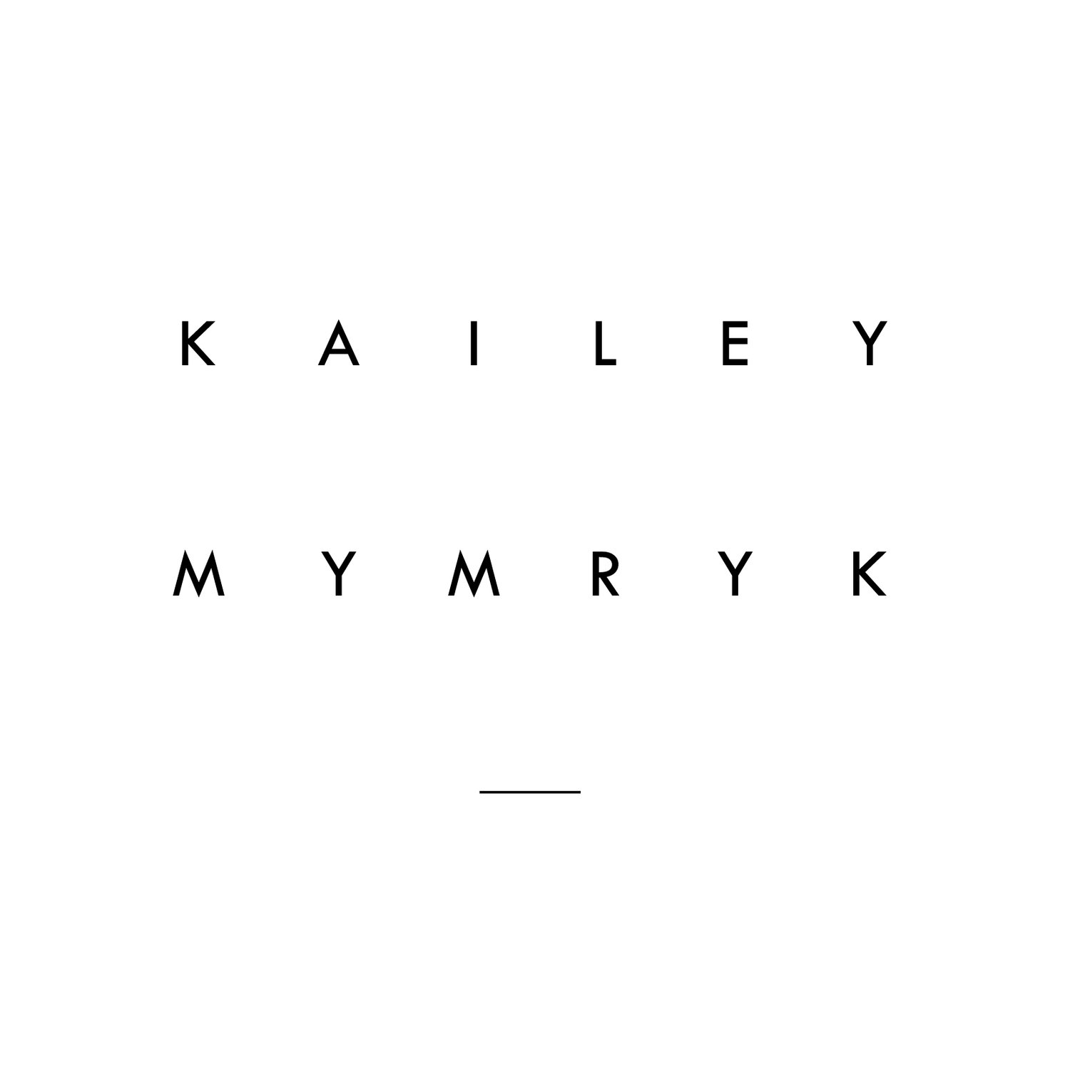 KAILEY MYMRYK