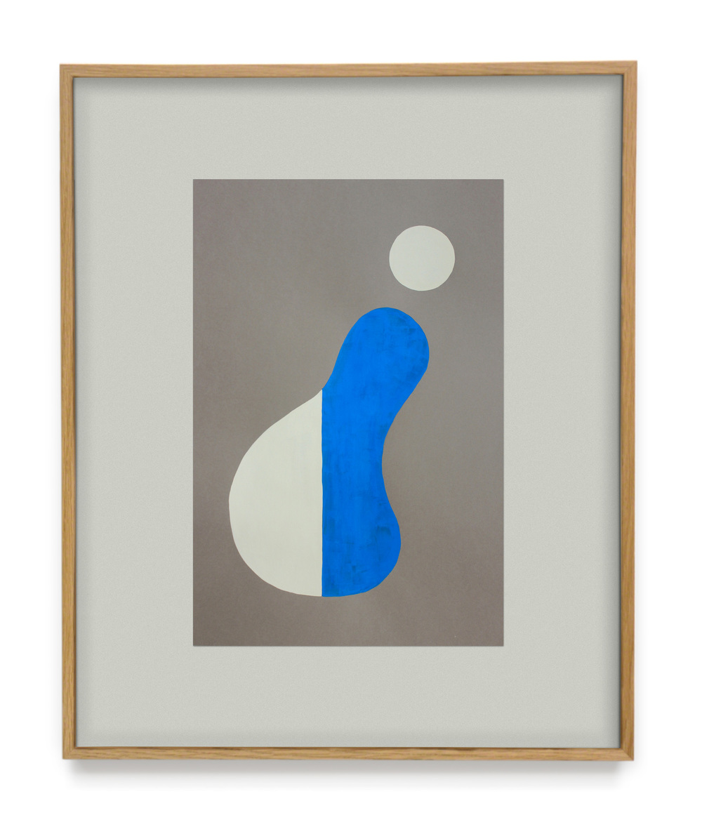 Colonial Forms Fig.02 Pencil & Gouache on paper,mounted to paper 2015