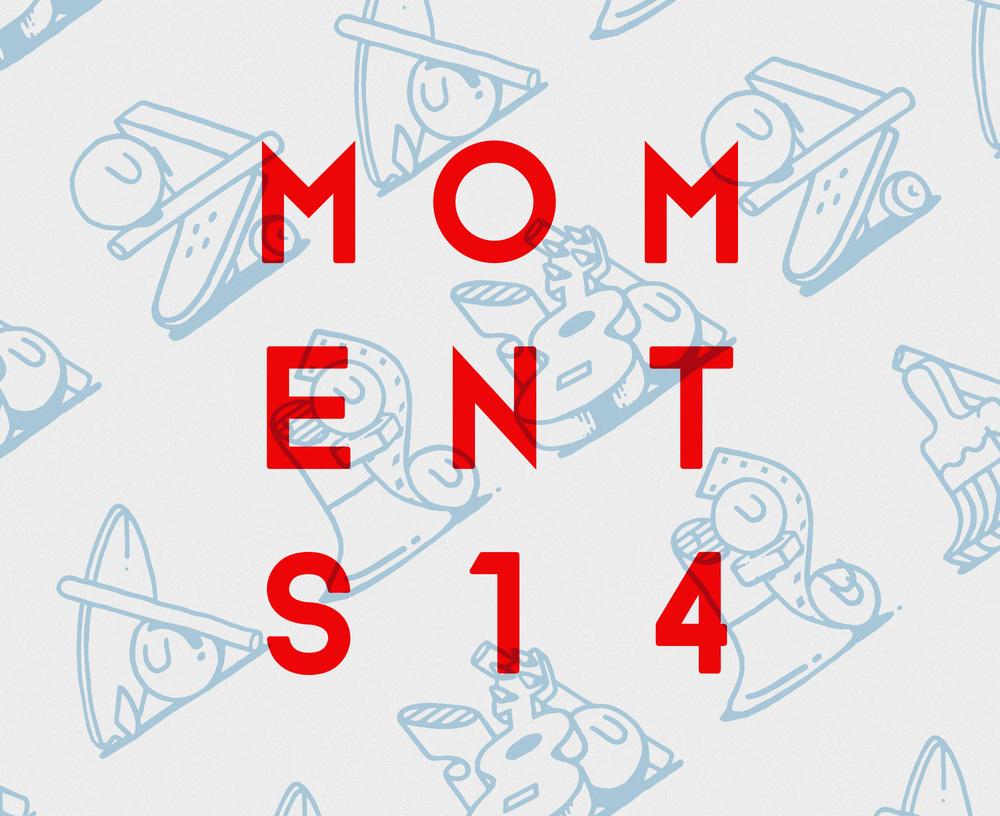 Moments Festival, Málaga, Spain Identity, Poster & Print