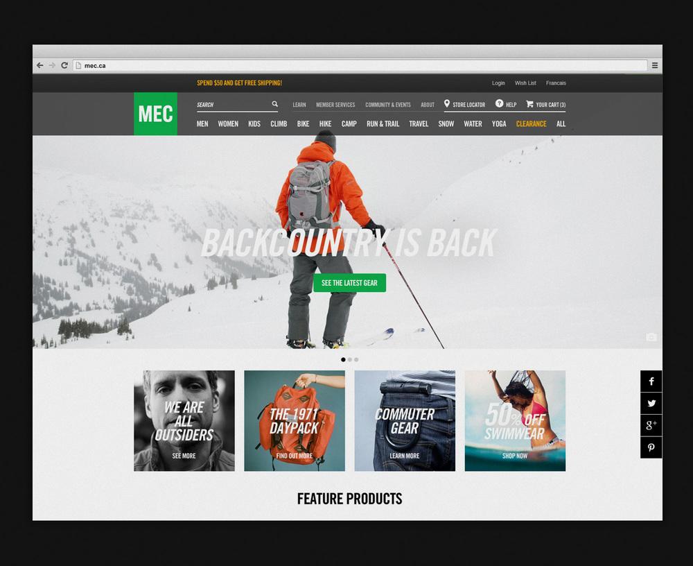 MEC — Website
