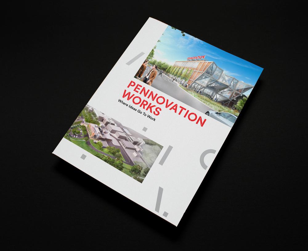Pennovation Works University of Pennsylvania Identity, Print, Website & Signage
