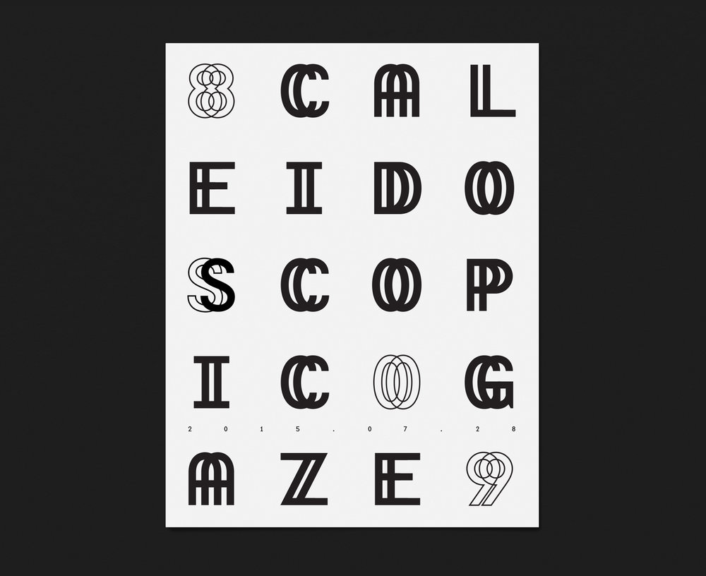 Improvisation — Typographic Posters