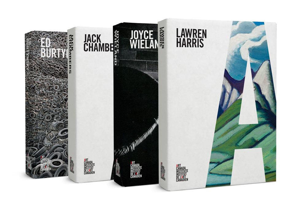 Cristian Ordóñez for Art Canada Institute book cover design