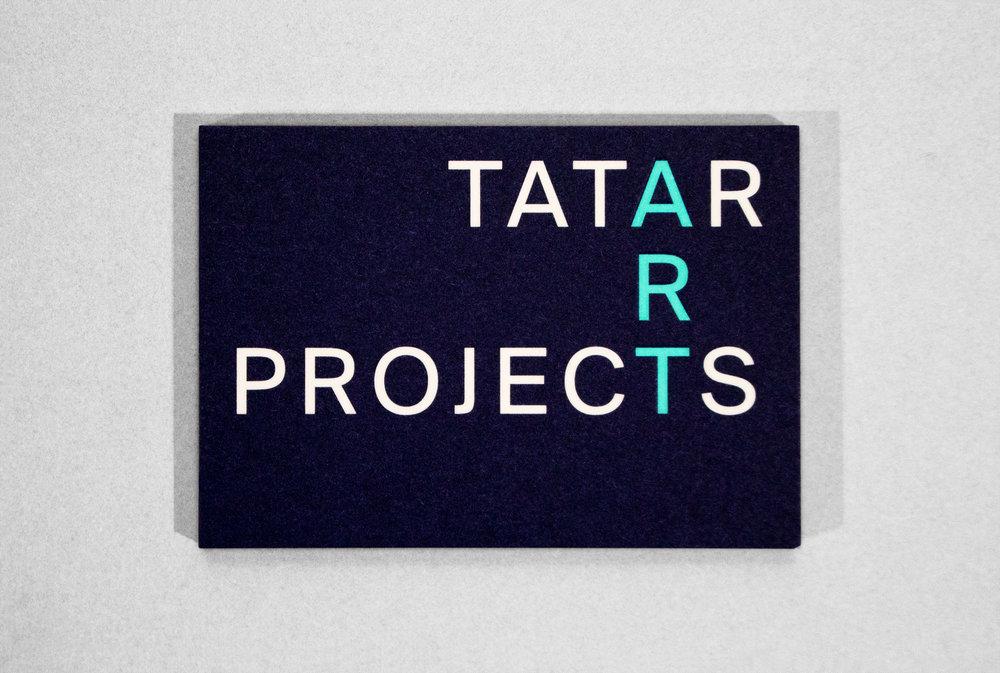 Cristian Ordóñez, Tatar Art Projects business cards design