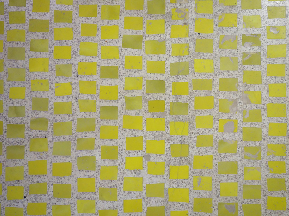 Scarpa Olivetti Floor Yellow