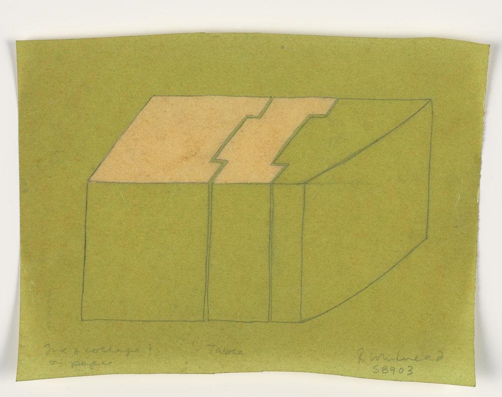Rachel Whiteread Drawings Table, 1989.jpg