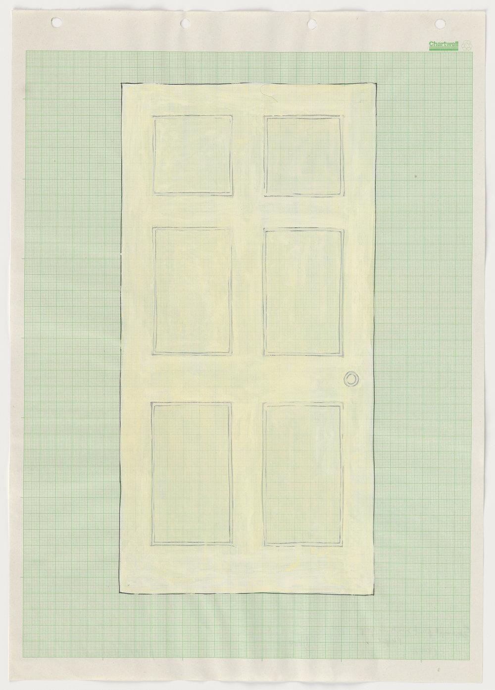 Rachel Whiteread Drawings, Door