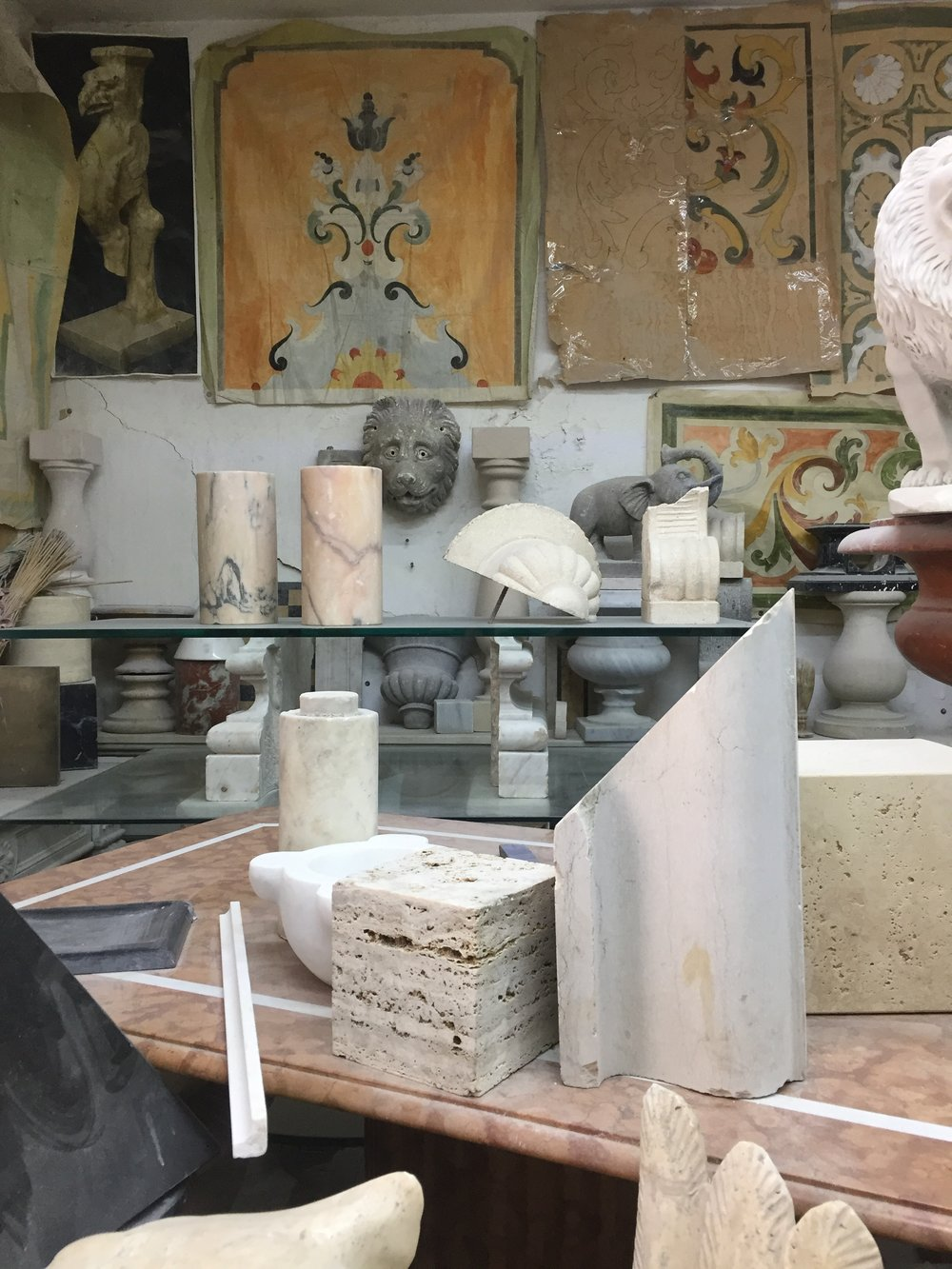 From the Land Journal Russo Stonemasons, Naples