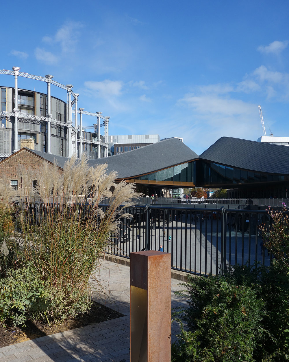 Coal Drops Yard From the Land