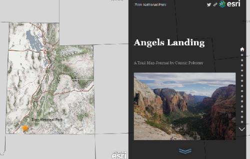 Angels Landing Story Map