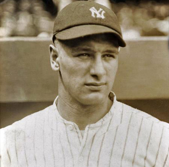 "Amyotrophic lateral sclerosis or ALS is sometimes known as Lou Gehrig's disease, named after the Yankees baseball player renowned for his prowess as a hitter and for his durability — a trait that earned him the nickname ""The Iron Horse."" He died of ALS in 1941. ( World Wide Photos )"