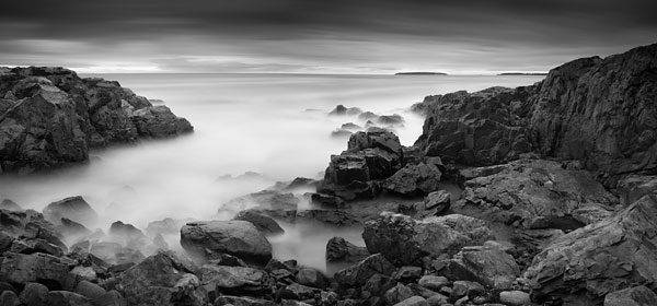 Rugged Coastline, Acadia, 2014