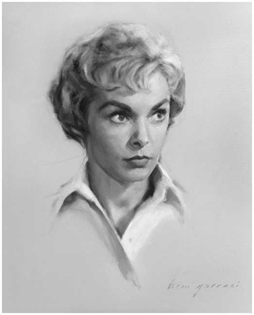 The Actress Janet Leigh, Collection of The Players Club of New York