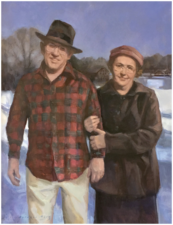 Mr. & Mrs. Norman and Lida Smith, Bentley University