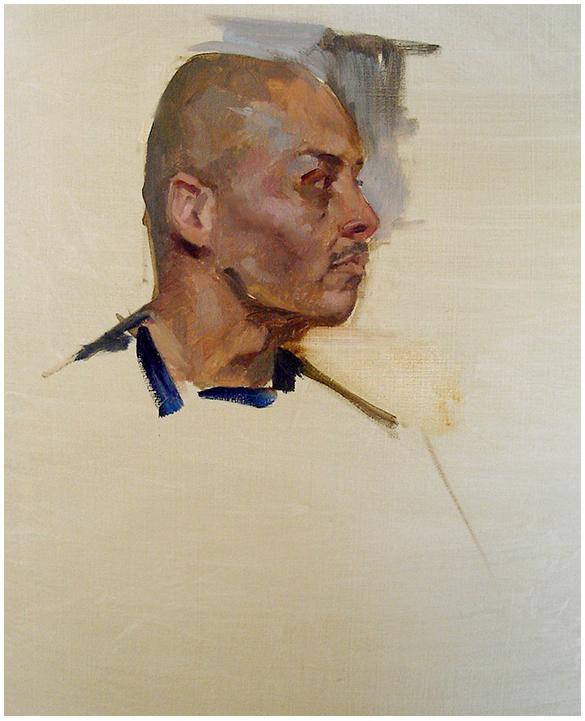 Portrait Study in Profile