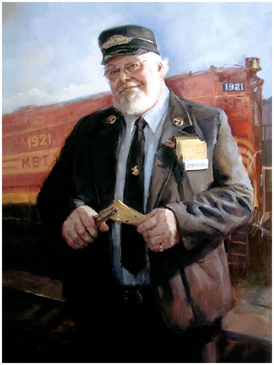 Jay Marsden, Boston's Favorite Train Conductor