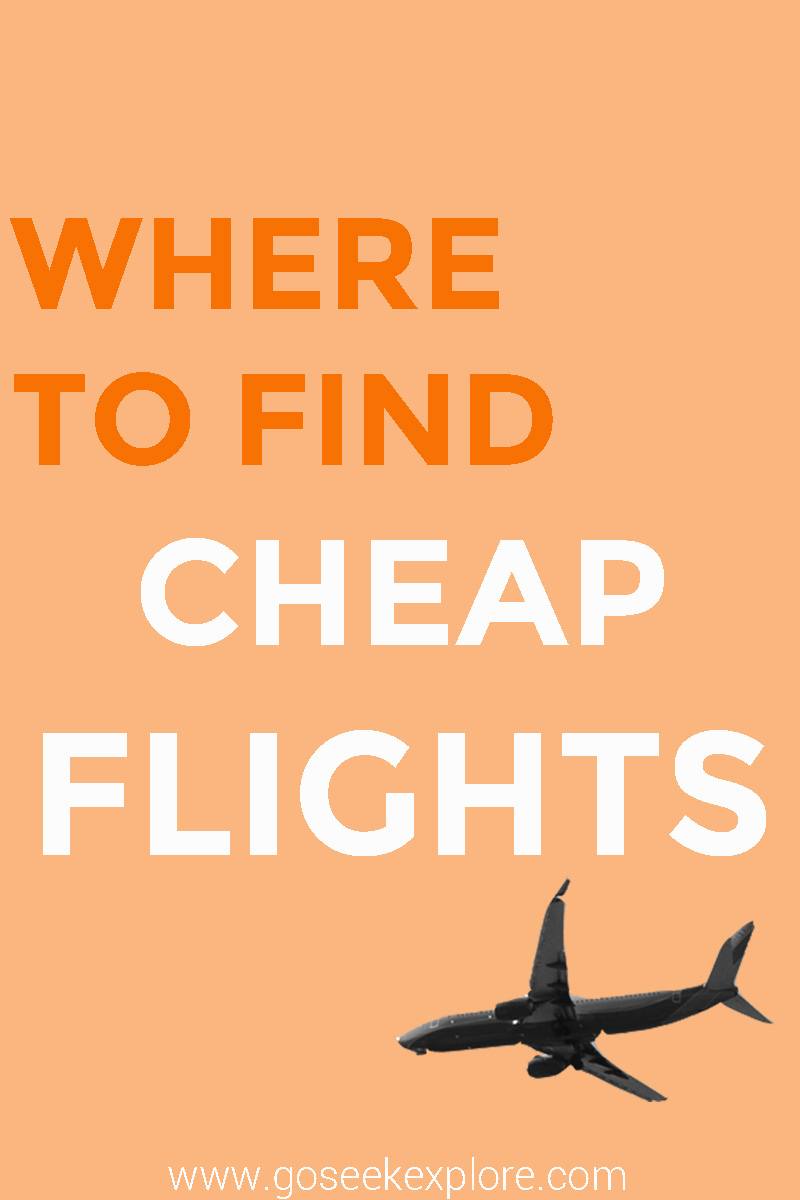 Where to find cheap flights go seek explore for How to find cheapest flight