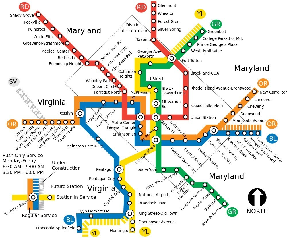 How to Navigate the D.C. Metro System