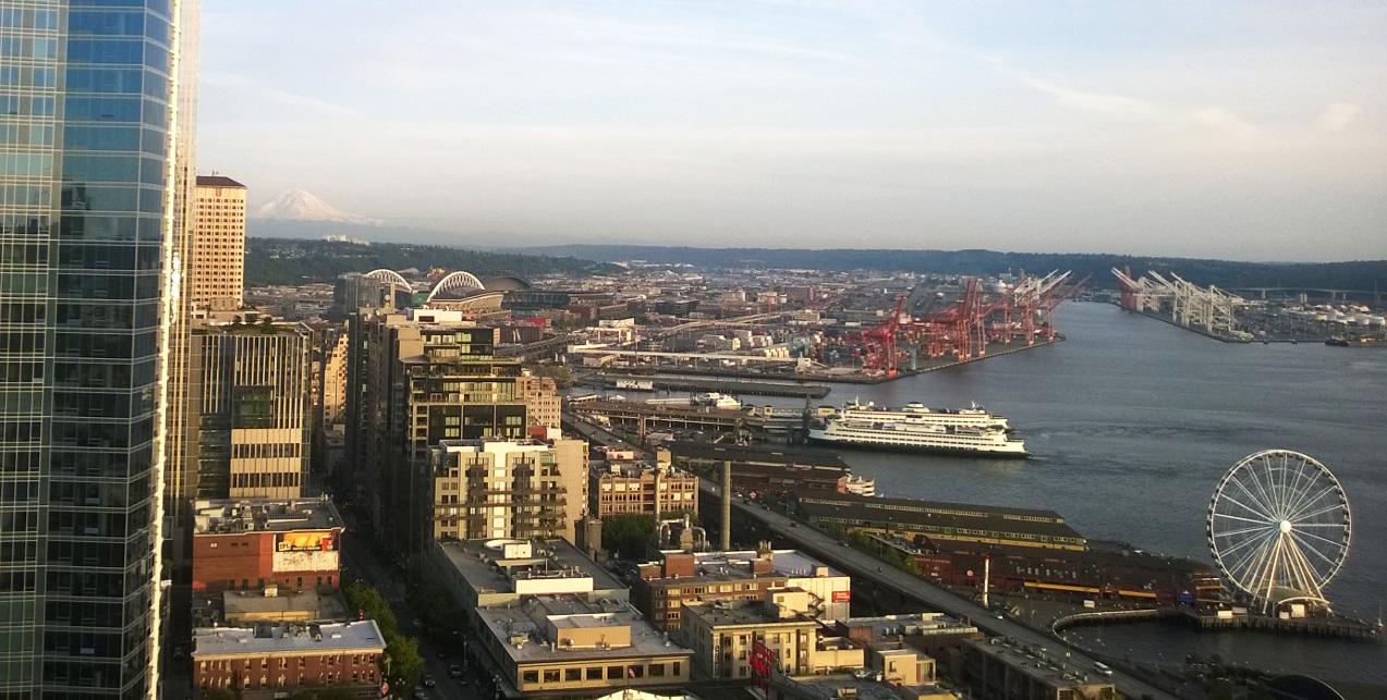 Seattle view - go seek explore blog