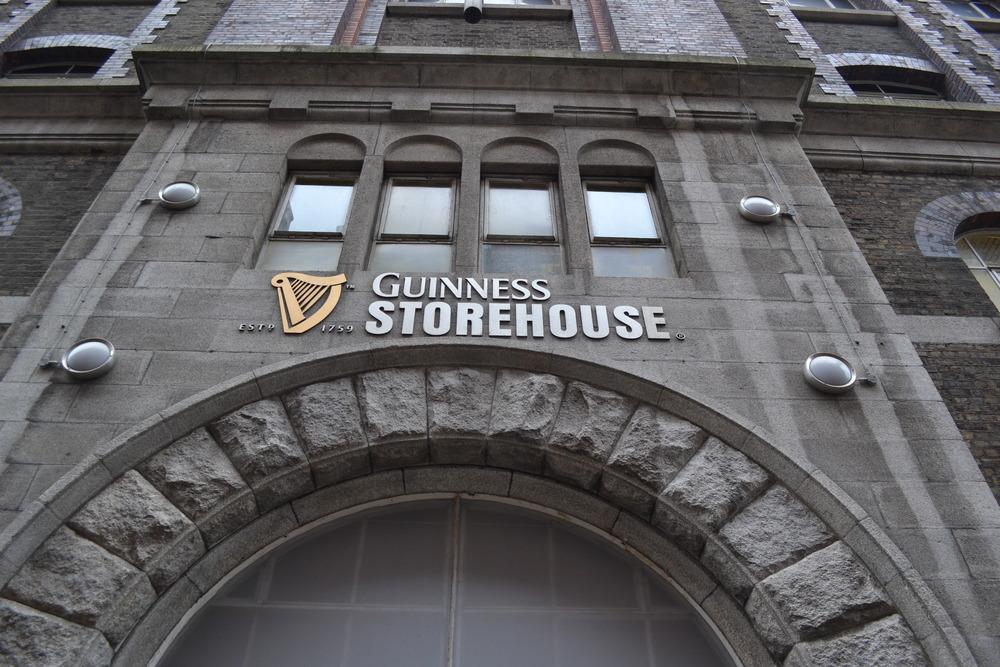 Guinness Storehouse Tour in Dublin, Ireland