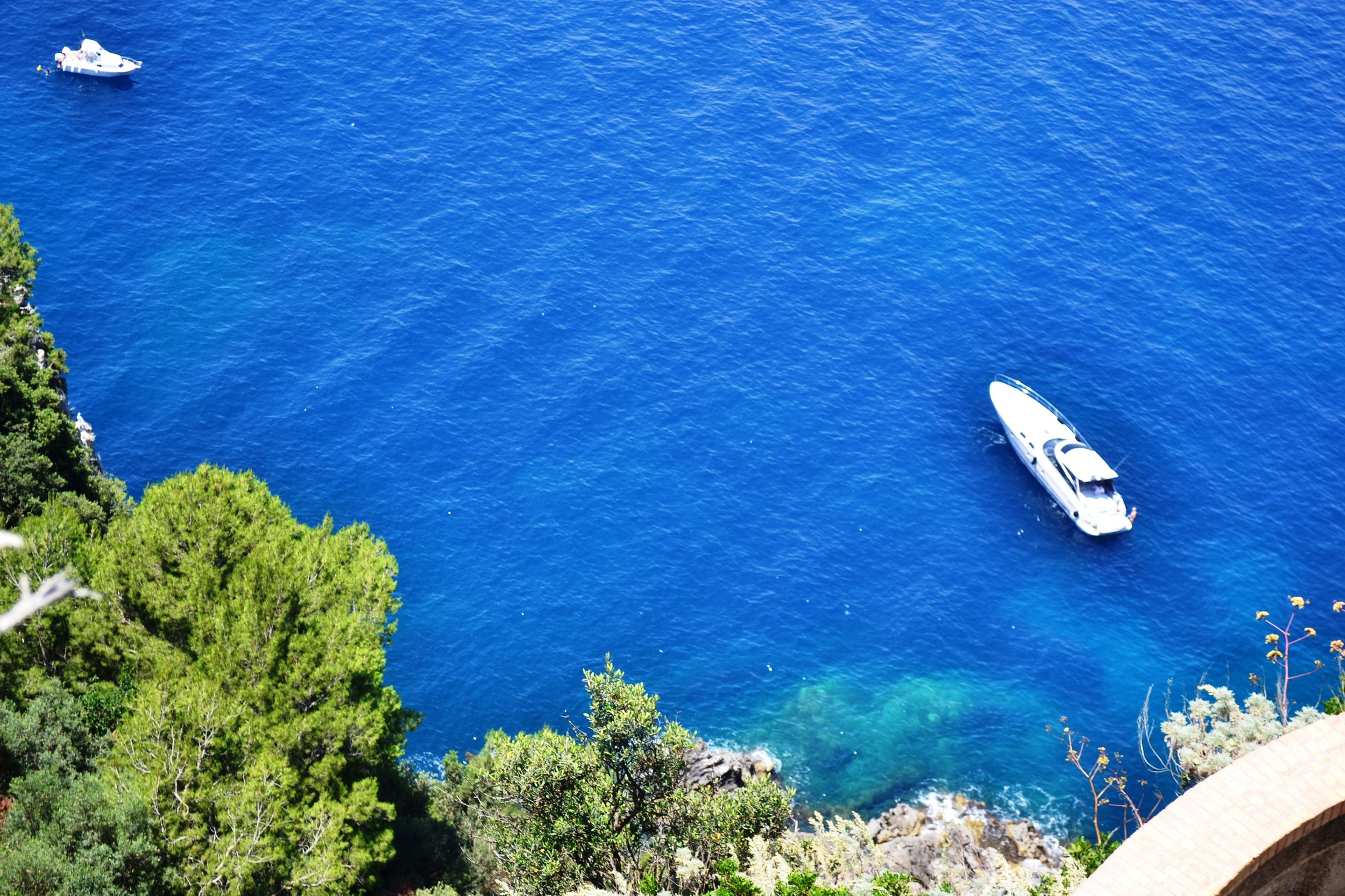 Blue Water in Amalfi Coast