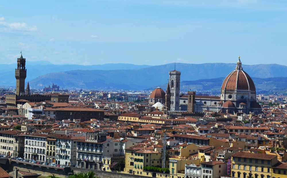 Florence Duomo from Piazzale Michelangelo