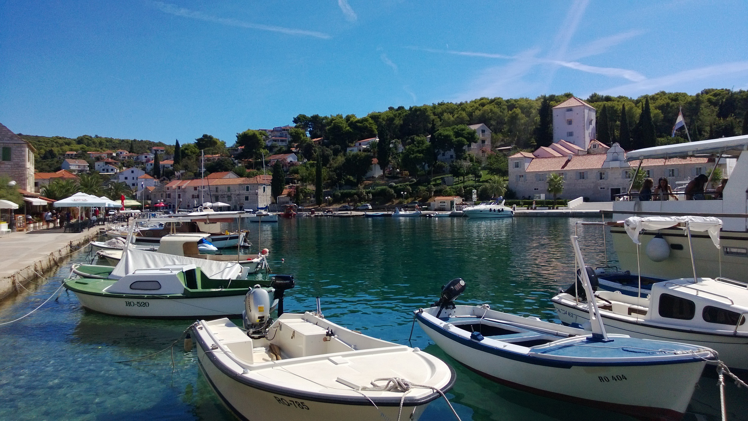 Boats in Croatia
