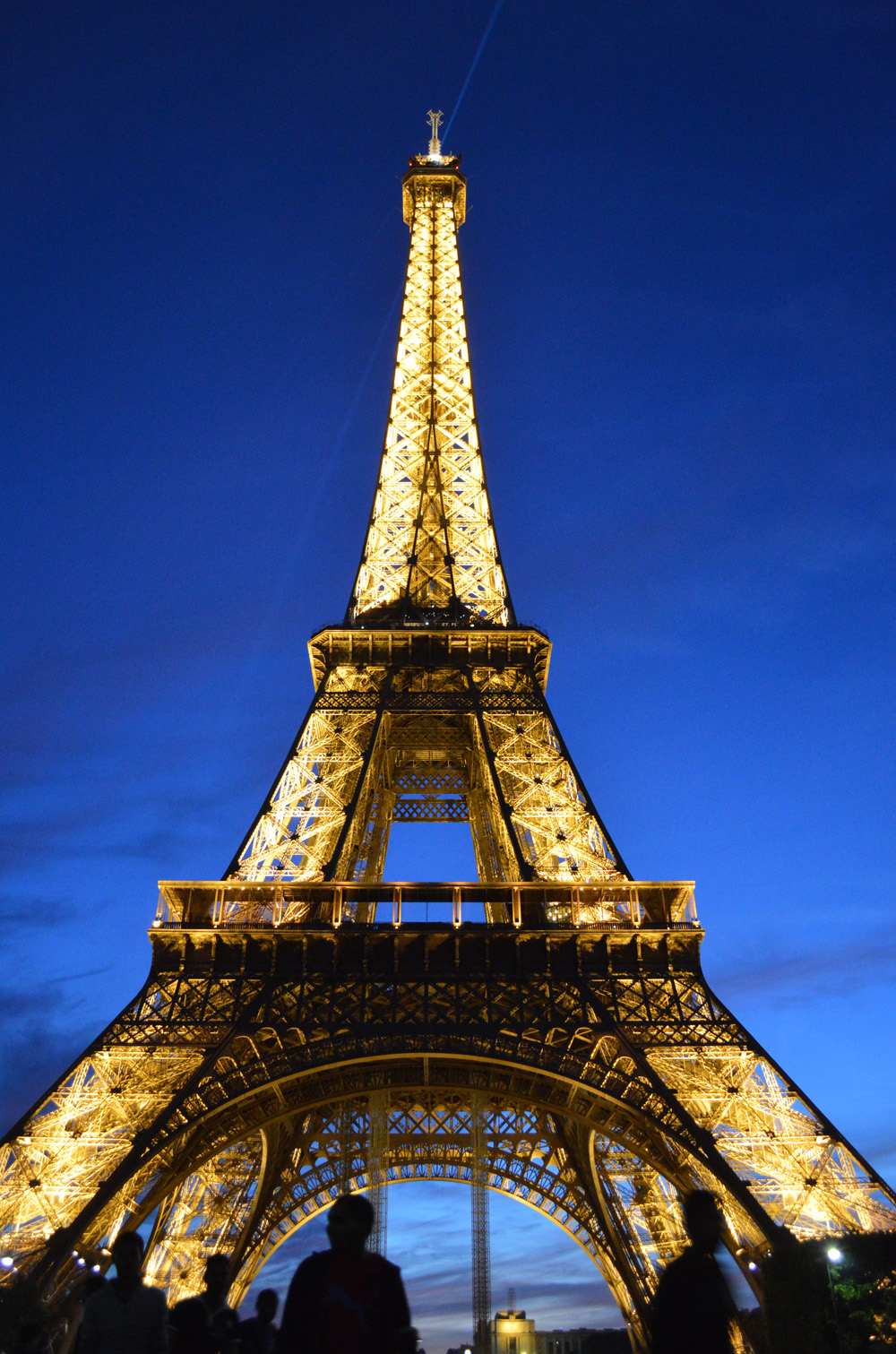1 Eiffel Tower at Night