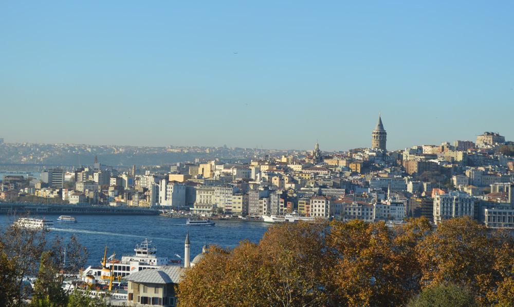 Topkapi Palace view in Istanbul, Turkey