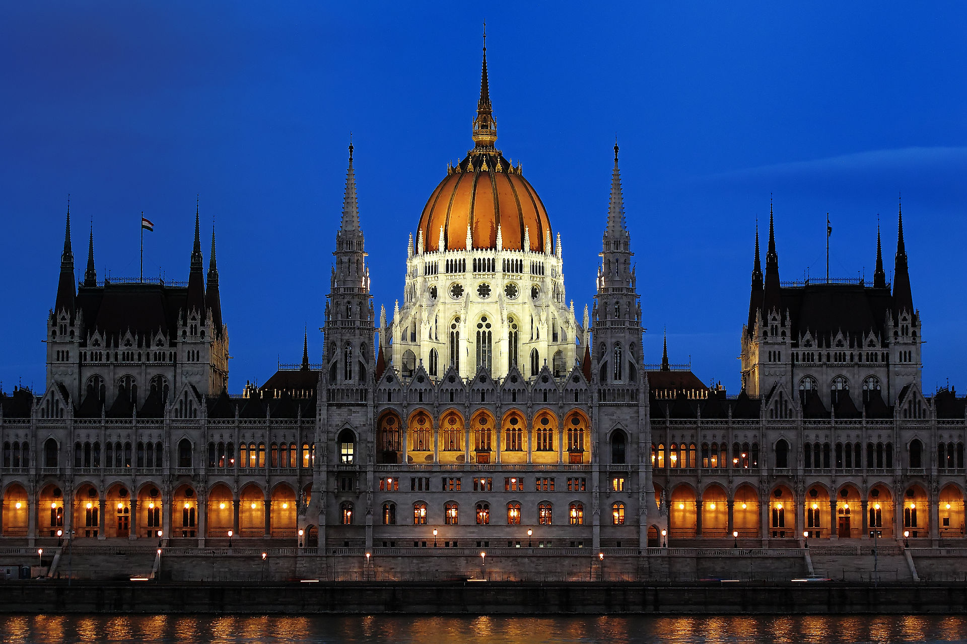 hungarian parliament buildin