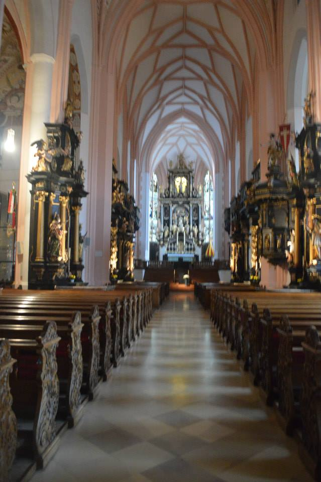 Sound of Music Wedding Church in Salzburg, Austria