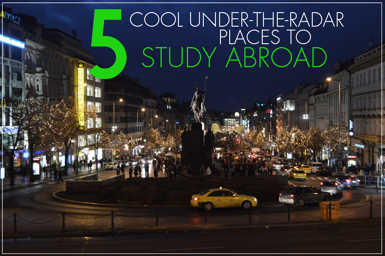 5 Cool Under-the-radar Places To Study Abroad