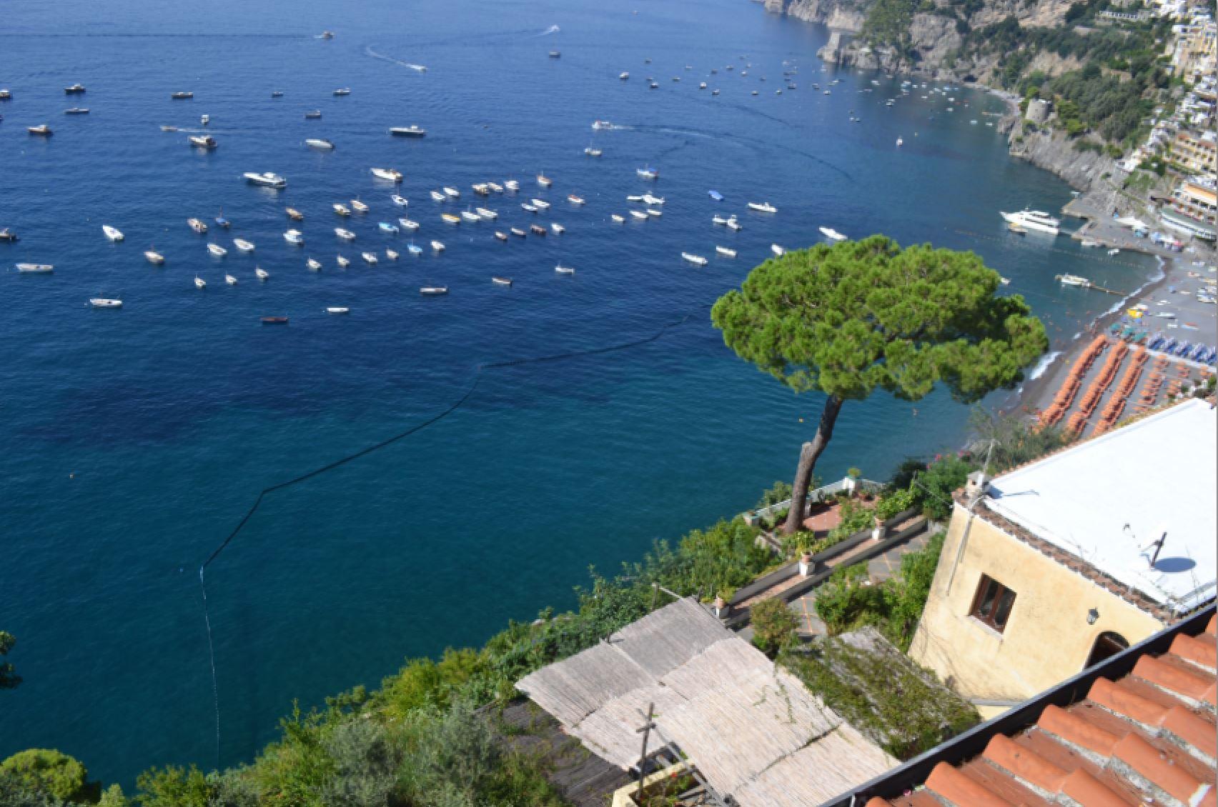 Amalfi Coast Positano boats