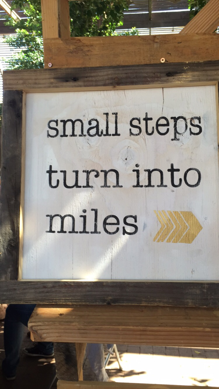 Small Steps Turn Into Miles _ Phoenix Flea