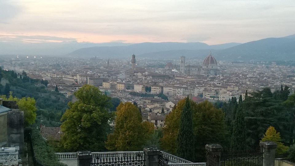Florence, Italy - View from Piazzale Michaelangelo