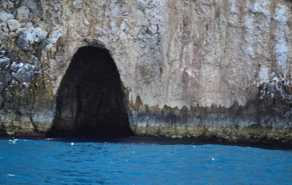 Blue Grotto Entrance