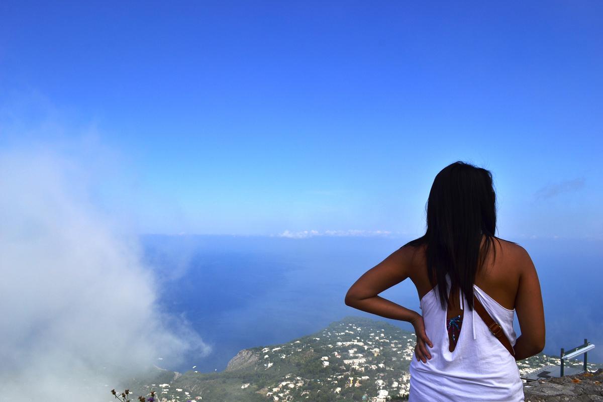 Foggy Capri