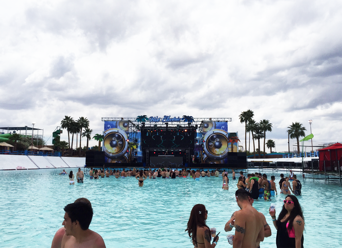 Wet Electric 2015 Stage