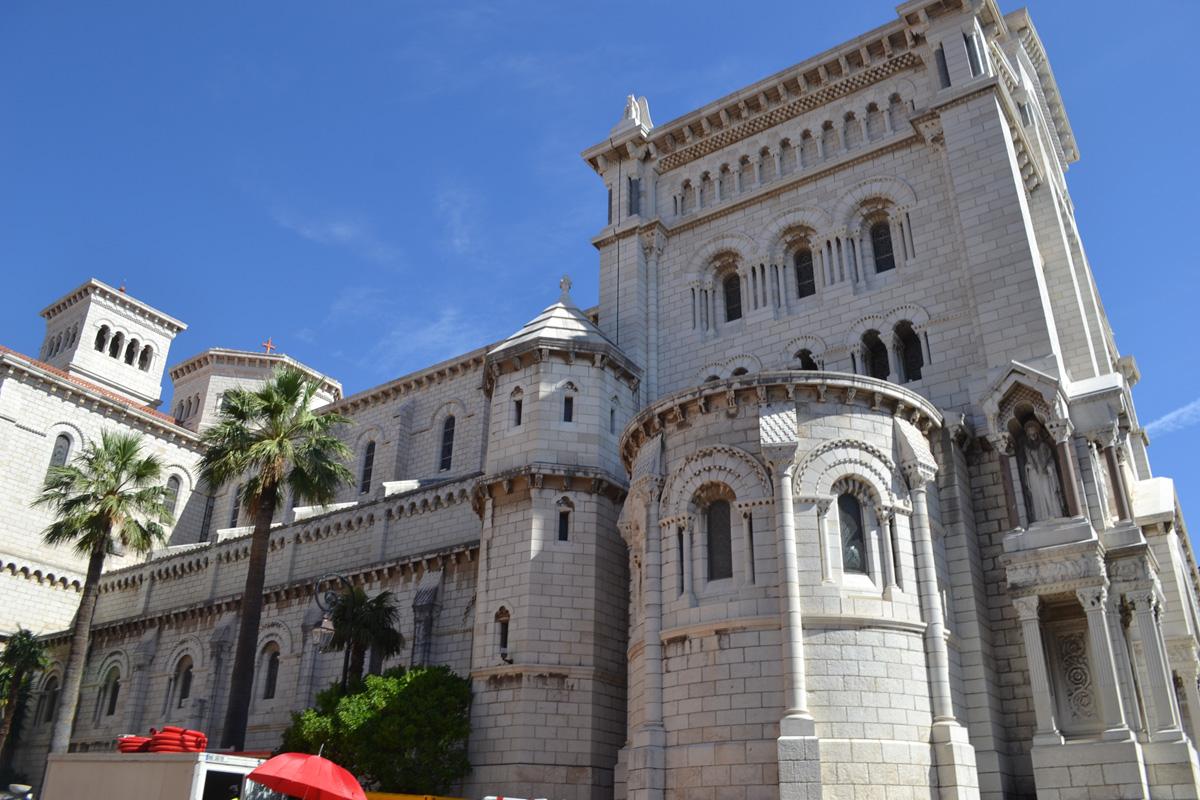 Castle in Monaco