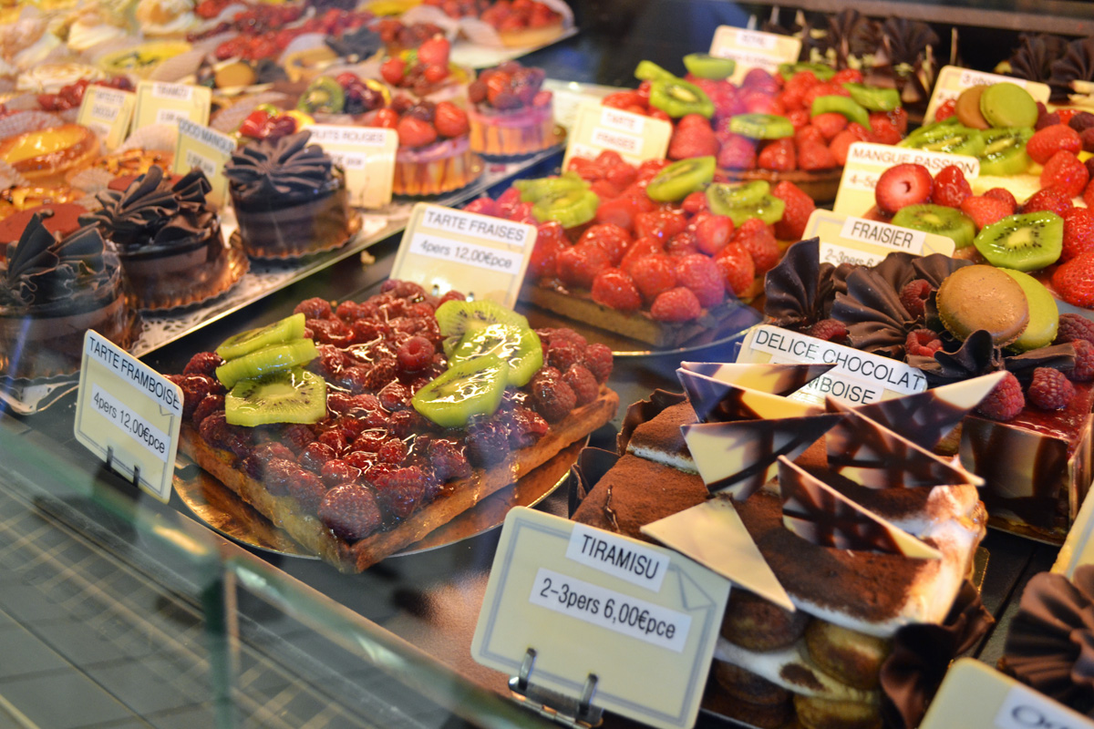 French Bakery in Southern France