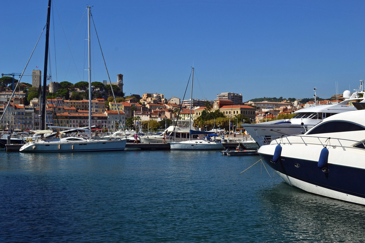 Marina in French Riveria Cannes