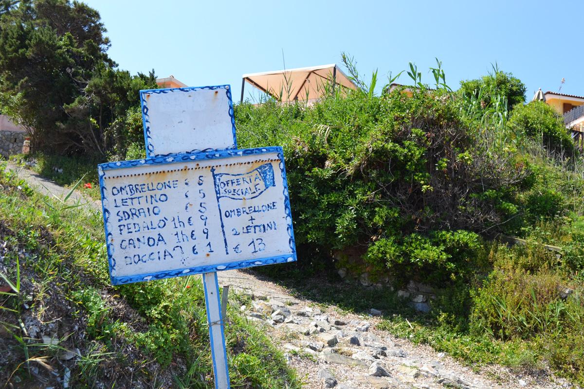 Sign Elba Island
